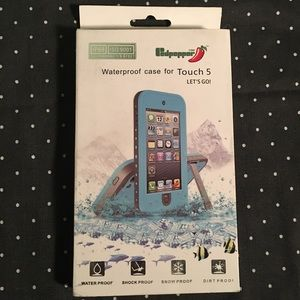 iPod Touch 5 Red Waterproof Case
